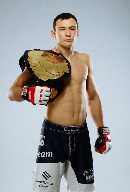 M-1 Challenge lightweight champion Damir Ismagulov