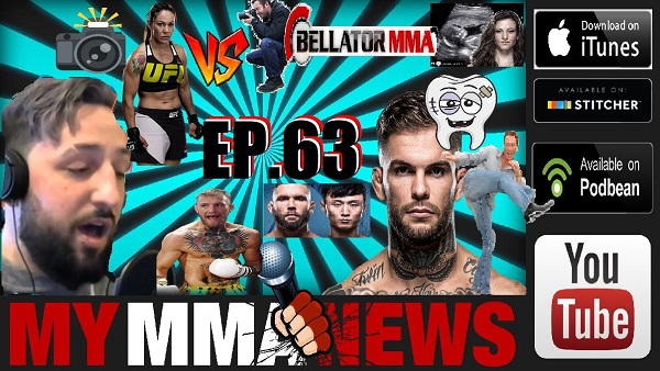 Pure EVil MMA Podcast #63 – UFC St Louis Preview / Conor Returns/ Bellator Drops Jimmy Smith/ No Love No Teeth + MORE!!!""
