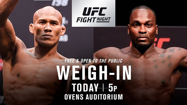 UFC on FOX 27 weigh-in results - Souza vs Brunson 2