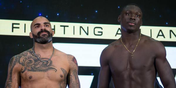 Nick Barnes and Curtis Millender Headline the First Fight Night of 2018 on AXS TV