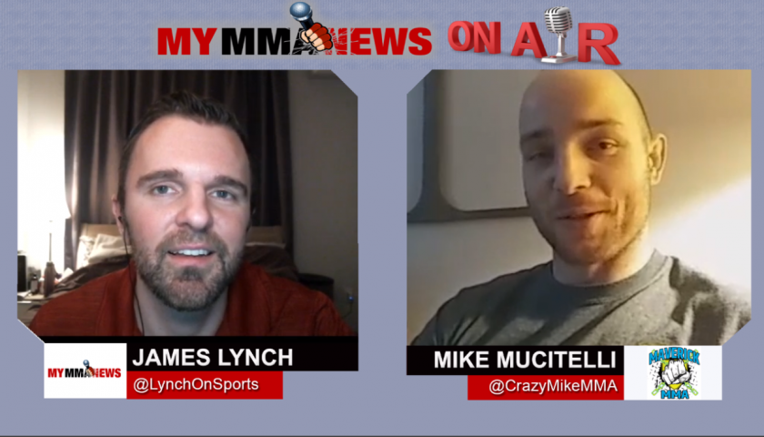 Mike Mucitelli talks Matt Hamill Matchup at Maverick MMA 5 , 2-Year Layoff & Video Games