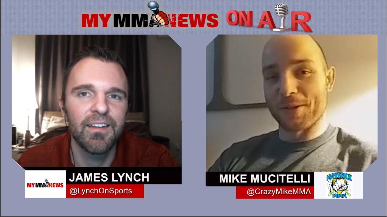 Mike Mucitelli talks Matt Hamill Matchup at Maverick MMA 5 , 2-Year Layoff & Video Games