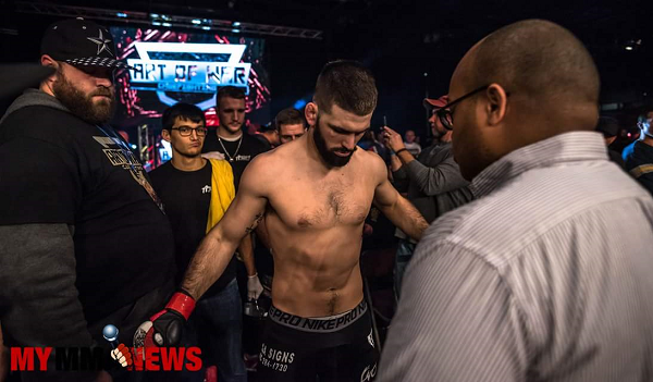 Andre Petroski (6-1) set to defend 170-pound title at Art of War 5
