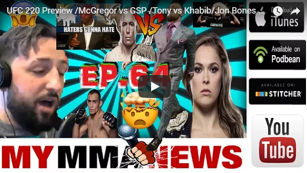Pure Evil MMA – UFC 220, Bellator 192 previews, WWE signs Ronda Rousey, more