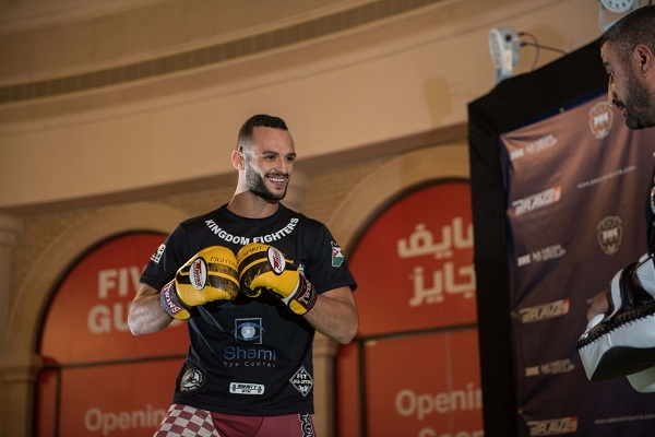Jarrah Al-Silawi eager to put on show in front of Jordan fans at Brave 10: 'No one can stop me'
