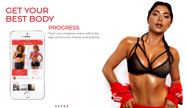 Arianny Celeste launches new Ultimate Body app