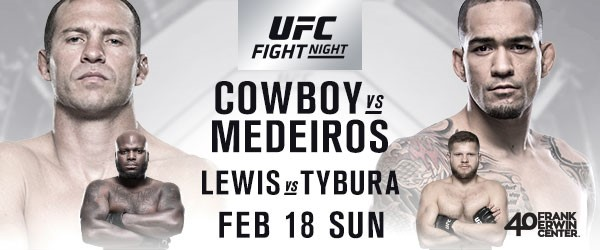 UFC Returns To Austin With A Welterweight Thriller Between Cowboy And Medeiros