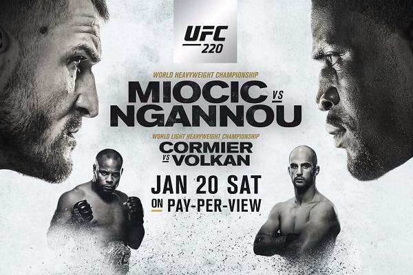 UFC 220 results - Miocic vs Ngannou, Cormier vs Oezdemir
