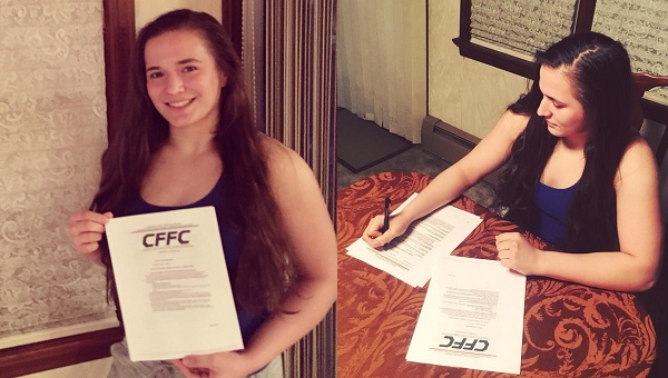 Erin Blanchfield signs to CFFC for pro MMA debut, meets Whittany Pyles