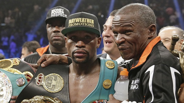 Warrant out for arrest of Floyd Mayweather Sr