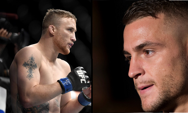 Dustin Poirier vs Justin Gaethje to headline UFC event in April