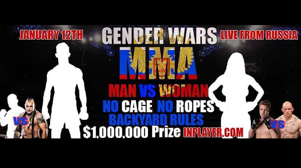 ORDER:  Gender Wars MMA 1 Pay-Per-View – Man vs. Woman MMA fight TONIGHT