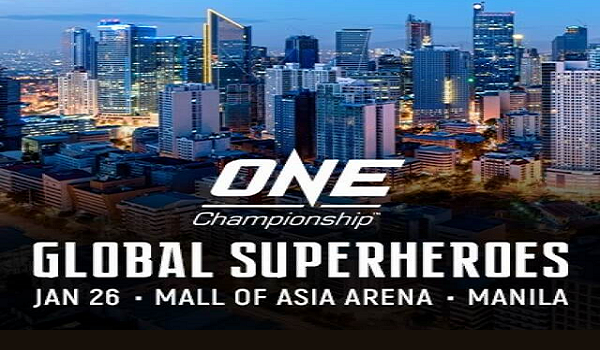 ONE: Global Superheroes set for January 26 in Manila