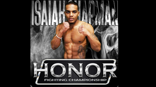 Isaiah Chapman and Blaine Shutt fight for inaugural Honor Fighting Championship flyweight title