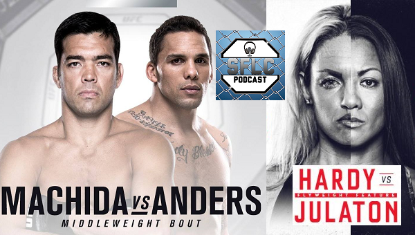 Eryk Anders and Ana Julaton talk upcoming fights on SFLC Podcast