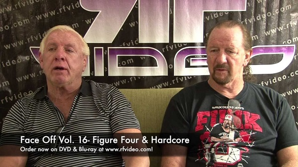 Ric Flair: Bret Hart didn't take bumps - Face Off with Terry Funk and Ric Flair