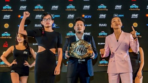 ONE:  Kings of Courage Press Conference Held in Jakarta