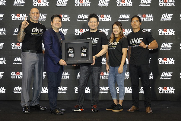 ONE Championship and Global Citizen team up to end extreme poverty by 2030