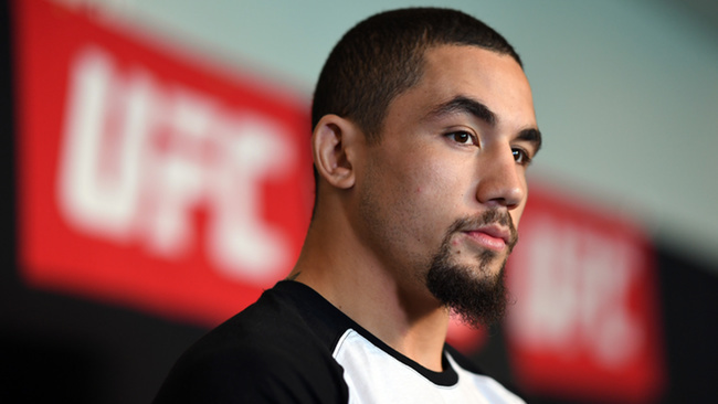 Dana White:  Robert Whittaker in serious condition with staph infection