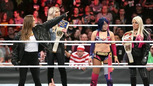 Ronda Rousey invades WWE Royal Rumble, hints at WrestleMania debut