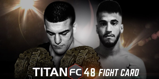 Full Titan FC 48 fight card released
