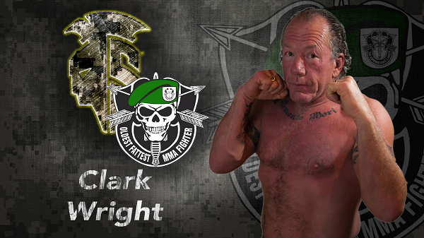 Oldest, Fattest MMA fighter, Clark Wright, returns to the cage to meet fellow U.S. Army Veteran