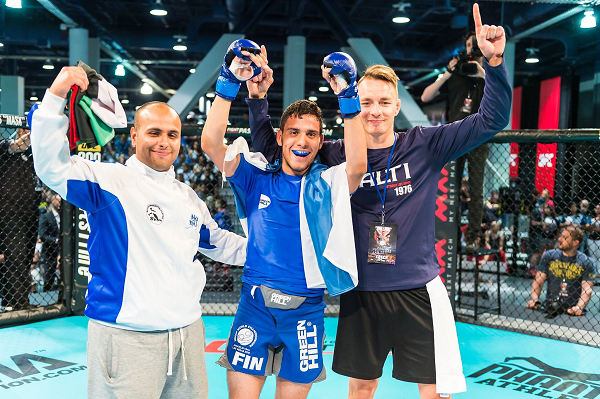 Abdul Hussein, Youngest ever World and European champion signed by Brave Combat Federation