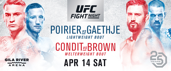 Fight Of The Year Candidate Headlines UFC Debut In Glendale, Arizona