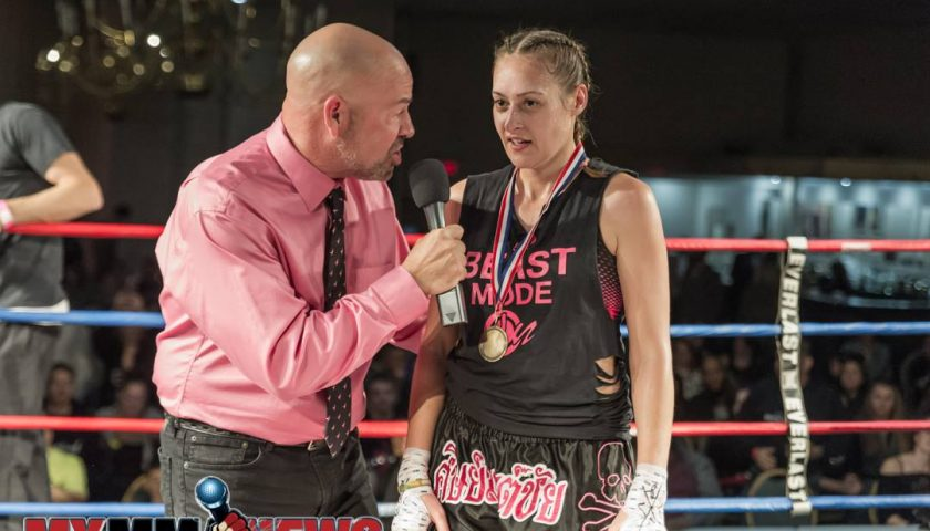 Juli Keller enjoying living the fighters' lifestyle, re-enters the ring at USKA Fight Night Allentown