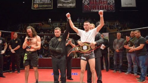 """Senor Perfecto"" Bill Algeo prepared to defend his 145 lb. Ring of Combat title at ROC 62"