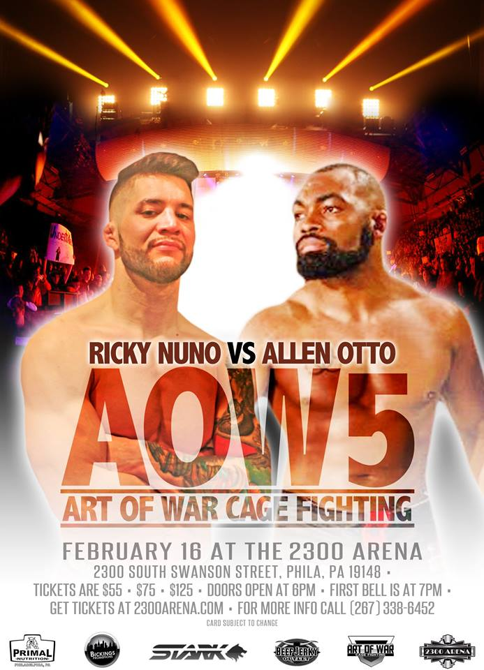 Rick Nuno vs Allen Otto, Art of War 5