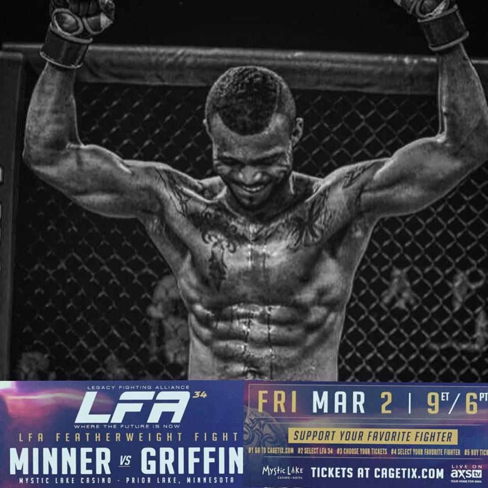 Jordan Griffin, LFA 34