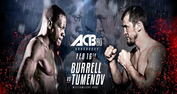 ACB 80 – Burrel vs. Tumenov – FREE LIVE STREAM