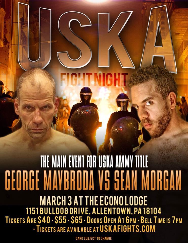 Sean Morgan, USKA Fights