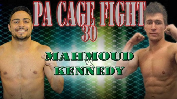PA Cage Fight 30 Results – Aaron Kennedy vs. Malek Mahmoud