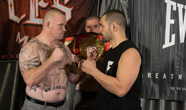CES MMA 48 weigh-in results - Greg Rebello vs Travis Wiuff, CES MMA 48 results