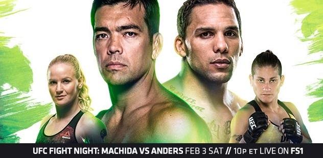 UFC Fight Night 125 Results - Eryk Anders vs Lyoto Machida