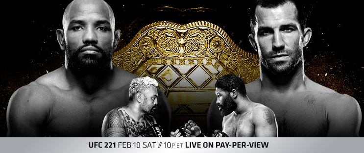 UFC 221 Results - Rockhold vs. Romero