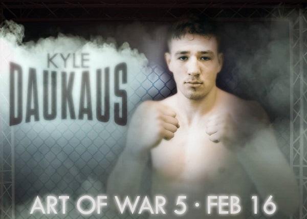 Kyle Daukaus fighting to keep perfect record at Art of War 5