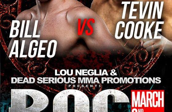 Bill Algeo vs Tevin Cooke