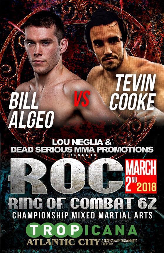 Bill Algeo vs Tevin Cooke - ROC 62