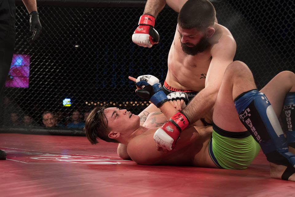 Andre Petroski vs Avery Sanchis, Art of War Cage Fighting 5