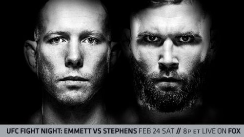 UFC on FOX 28 Results – Josh Emmett vs Jeremy Stephens