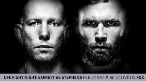 UFC on FOX 28 Results – Josh Emmett vs Jeremy Stephens