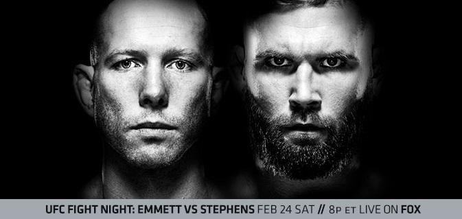 UFC on FOX 28 Results - Josh Emmett vs Jeremy Stephens