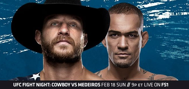 UFC Fight Night 126 results - Cerrone vs. Medeiros