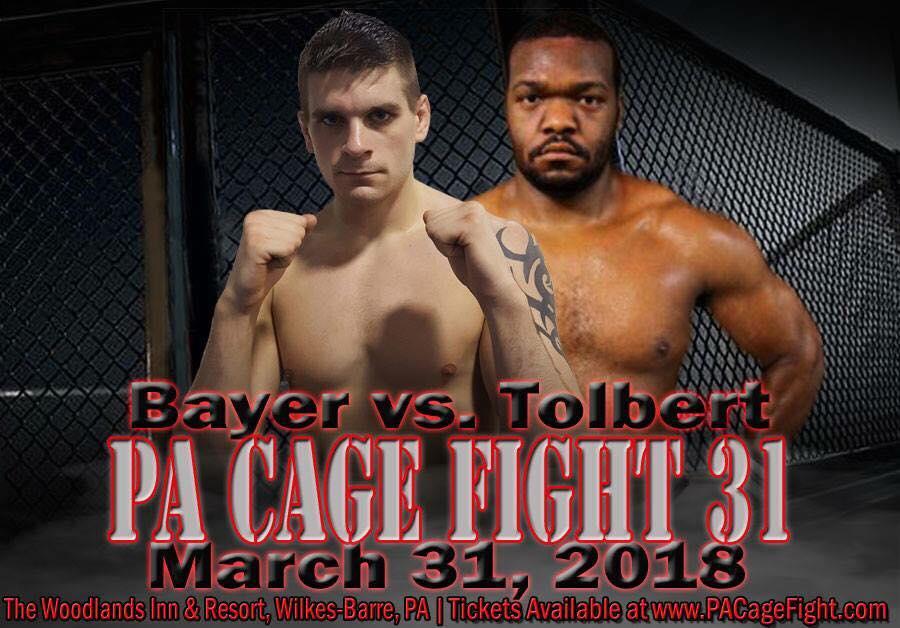Tyler Bayer vs Daniel Tolbert, PA Cage Fight 31