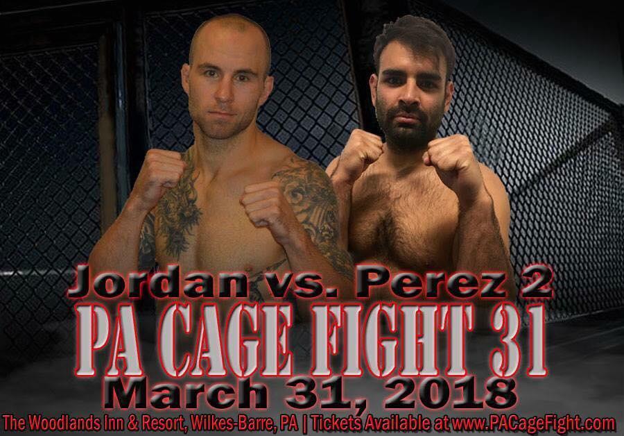 Jimmy Jordan vs Andrew Perez, PA Cage Fight 31