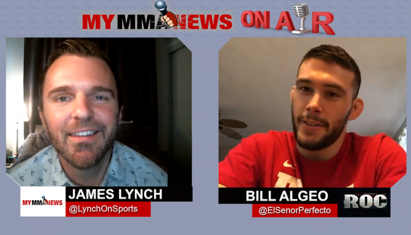 Bill Algeo talks ROC featherweight title defense, fighters on USKA card