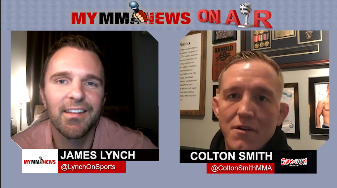 TUF 16 Winner Colton Smith talks Sean Brady matchup, Layoff, Military Service